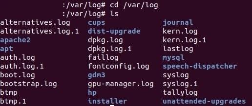 Directorio de Logs mas comunes en Linux