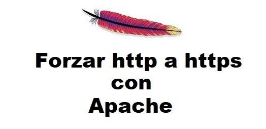 Forzar http a https en Apache