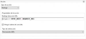Redirigir HTTP a HTTPS con IIS